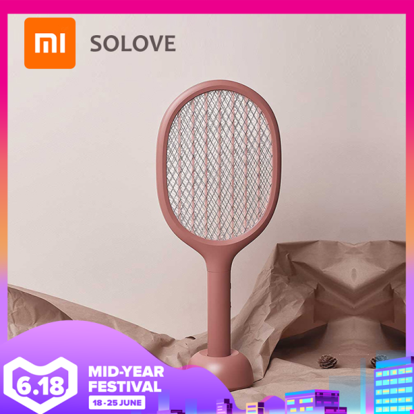 Xiaomi Solove Vertical Electric Mosquito Swatter P1 Usb Rechargeable Mosquito Killer Handheld Fly Killer Swatter Home Smart Singapore