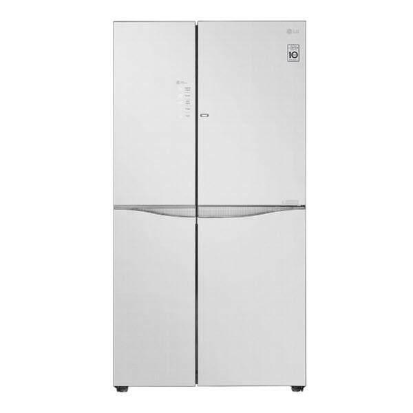 LG 679L Linen White Refrigerators with Inverter & InstaView Door-in-Door® LG-GCM247UGUV