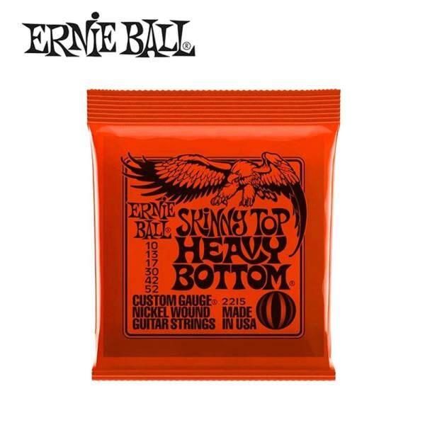 hot Ernie Ball 2215 Skinny Top Heavy Bottom Slinky Nickel Wound Electric Guitar Strings 10-52 Malaysia