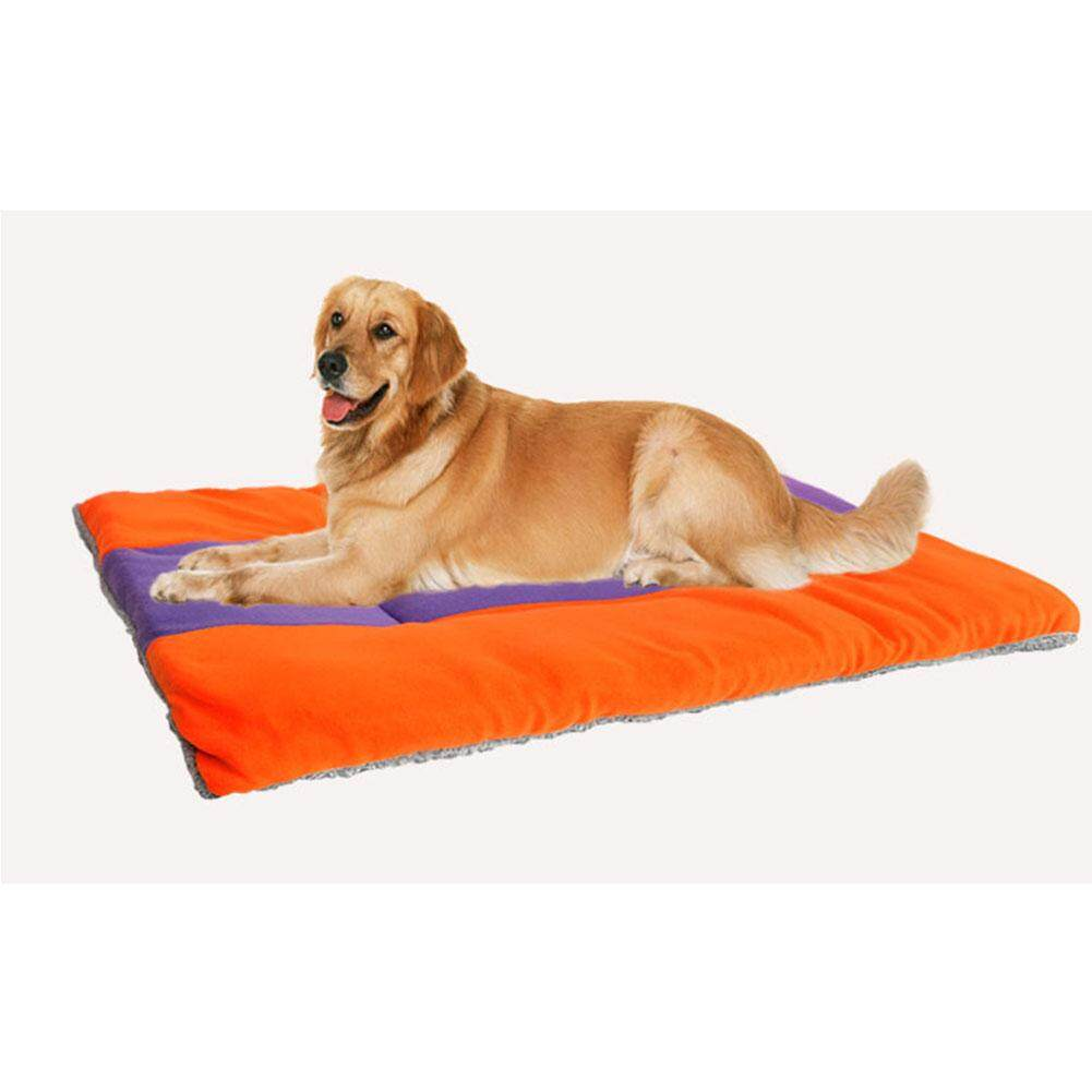 Many Sizes Pet Dog Crate Mat Kennel Cage Pad Bed Cushion Breathable Washable Pet Sofa Bed Size63x50cm By Leasinder.