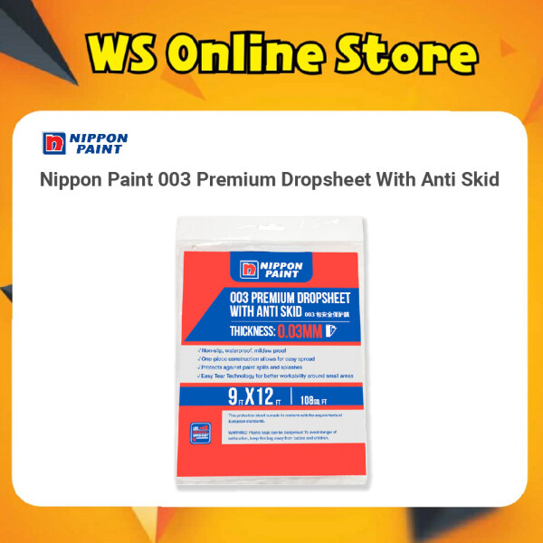 Nippon Paint 003 Premium Dropsheet With Anti Skid