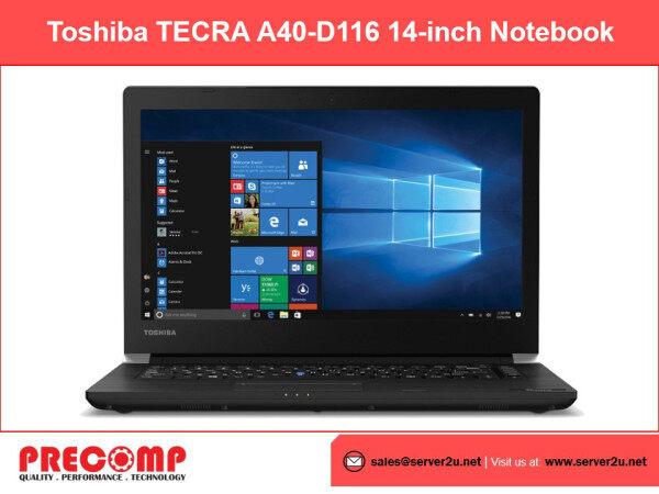 Toshiba TECRA A40-D116 14-inch Notebook (i5-7200U.8GB.500GB) (PS483L-06P00E) Malaysia