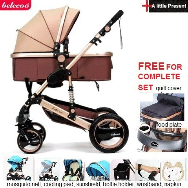 2 way facing BELECOO BABY STROLLER SHORT TIME PROMOTION Singapore