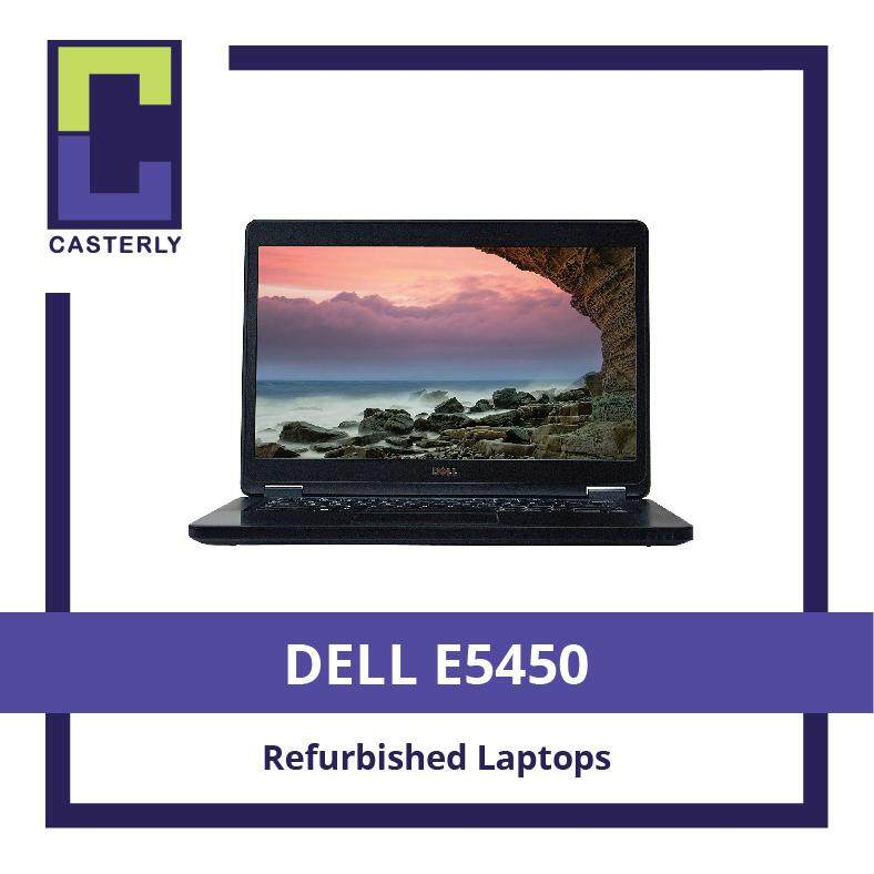[Refurbished] DELL E5450: Latitude 14 5000 Series / Intel Core i5 / 8GB RAM / 128SSD (WIN10) / One Month Warranty Malaysia