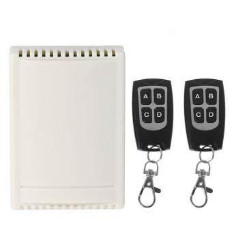 DC 12V 4CH wireless remote control switch 1 receiver + 2 transmitter 433MHz
