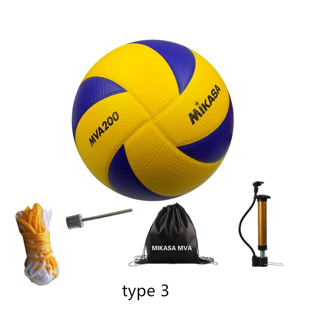 Genuine Upgrade V200w Mikasa Micasa Volleyball Mva200 No 5 Volleyball All New Olympic Beach Volleyball Indoor Outdoor Lazada Singapore