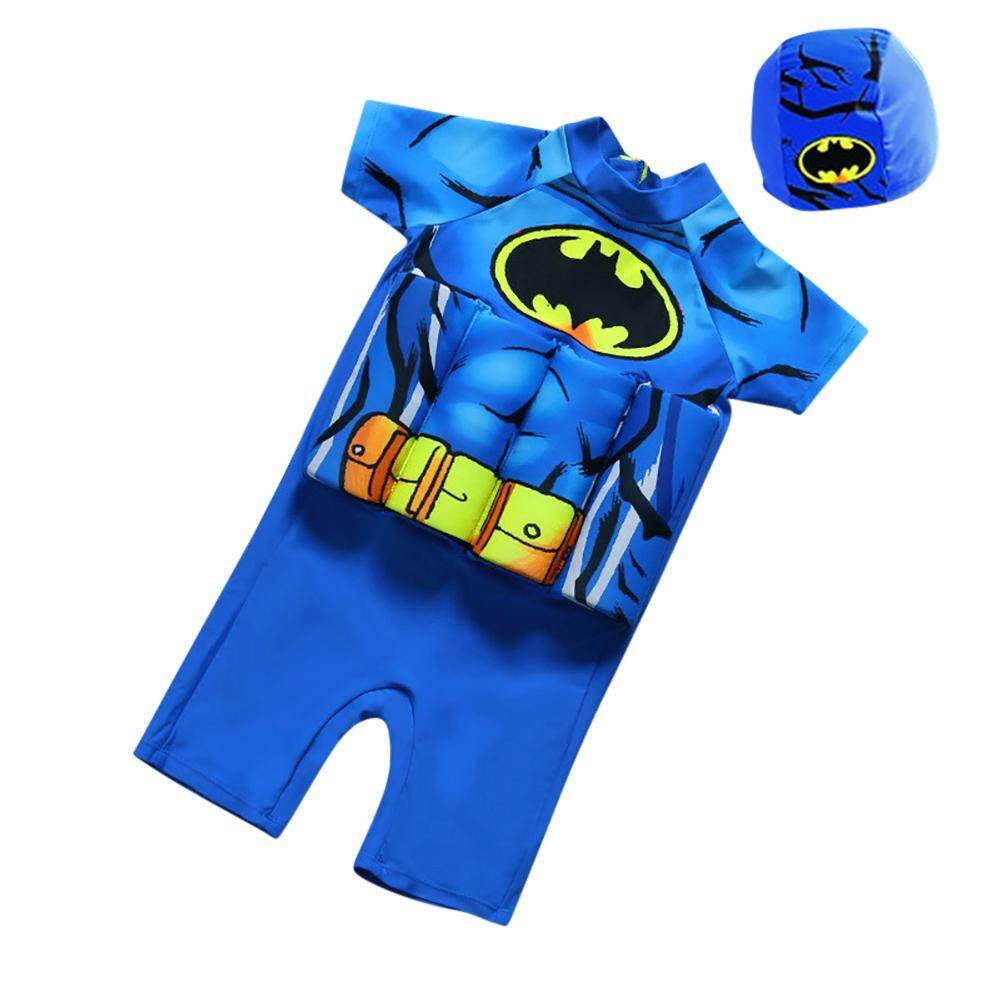 Childrens Buoyancy Swimsuit Baby Swimsuit Baby Child Boy One-Piece Floating Swimsuit Swimsuit By Rui Green.