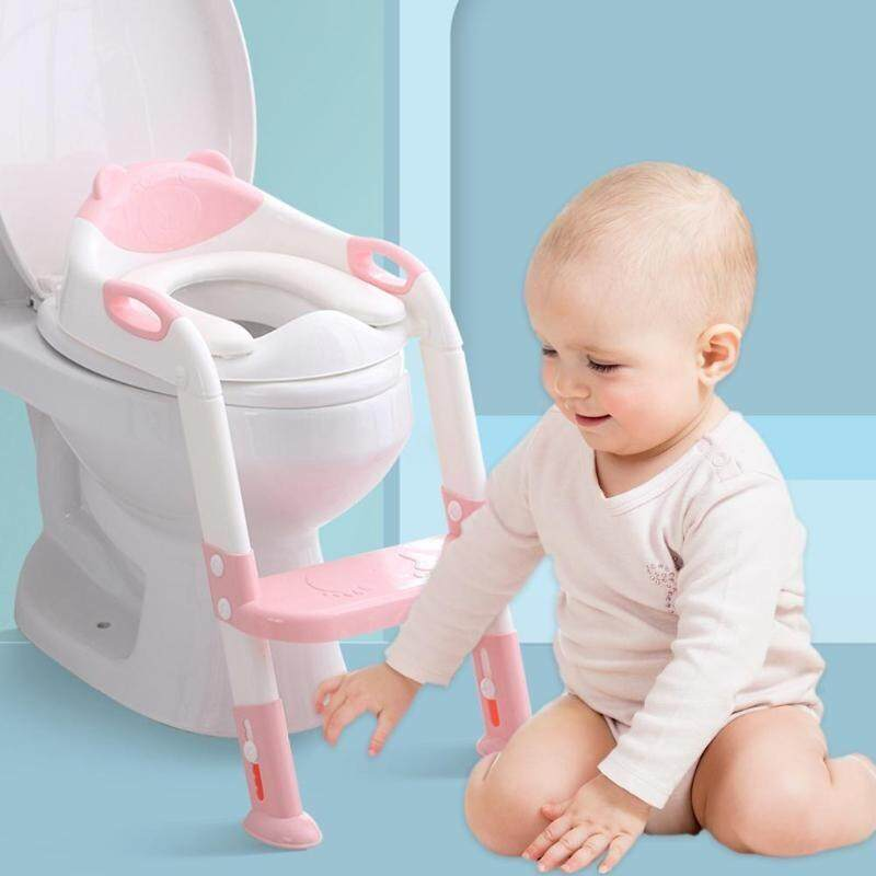 Baby Potty Seat with Adjustable Ladder