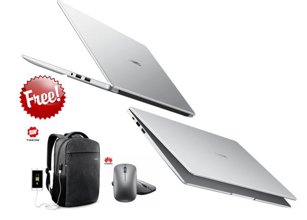 [Ready Stock] Huawei Matebook D 15 + FREE WIRELESS MOUSE (256 SSD + 1 TB HDD,AMD Ryzen 5 3500U, Radeon™ Vega 8),) Malaysia