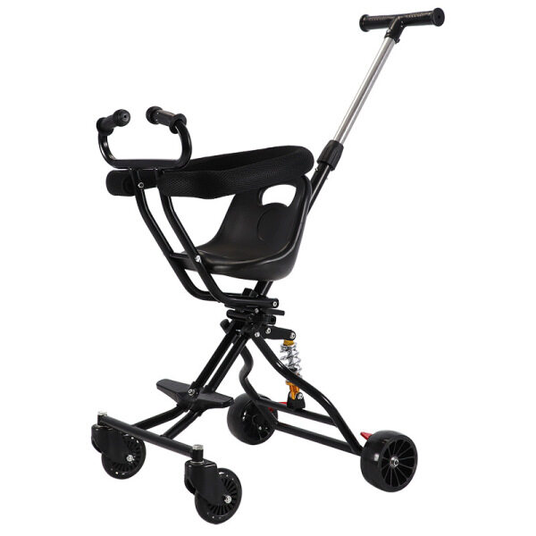 Catwalk Baby Foldable Trolley Sliding Baby Artifact Lightweight Walking Baby Take Baby Out Four Wheel Baby Stroller Singapore