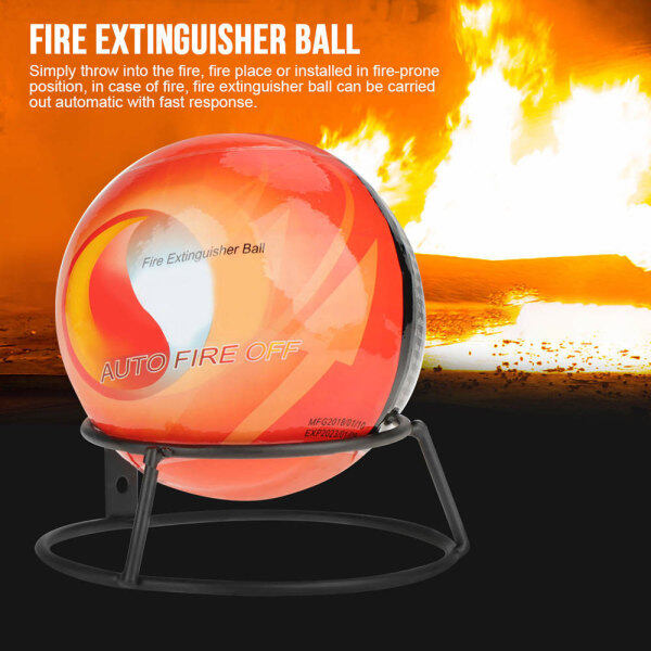 66 Happy Tool Ready Stock 0.5KG / 1.3KG Harmless Dry Powder Extinguisher ( AFO ) Auto Fire Extinguishing Ball Easy Throw Stop Fire Loss Tool Kitchen Car Home Safety