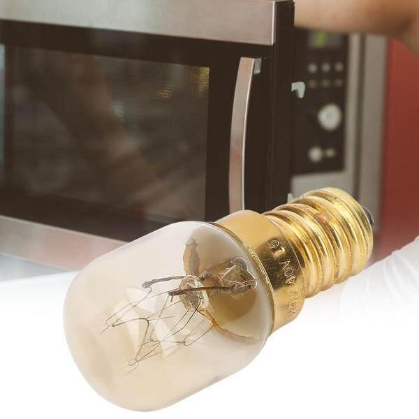 10Pcs 300℃ High Temperature Resistance E14 Brass Microwave Oven Light Bulb Parts Accessories
