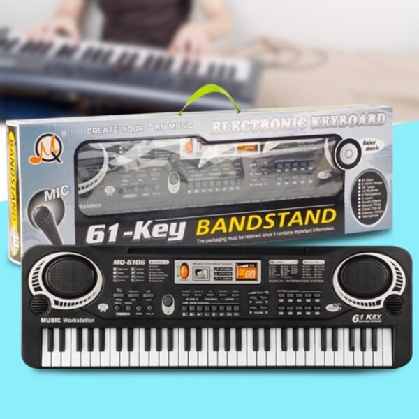 61 Keys Digital Music Electronic Keyboard Key Board Gift Electric Piano Gift Malaysia