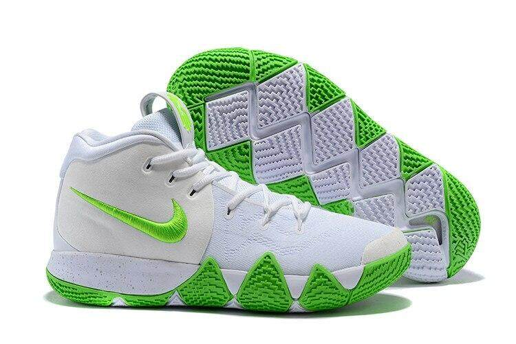 Nike_ Kyrie 4 Irving 4th Generation Confetti Men's basketball shoes, shock absorption and wear resistance