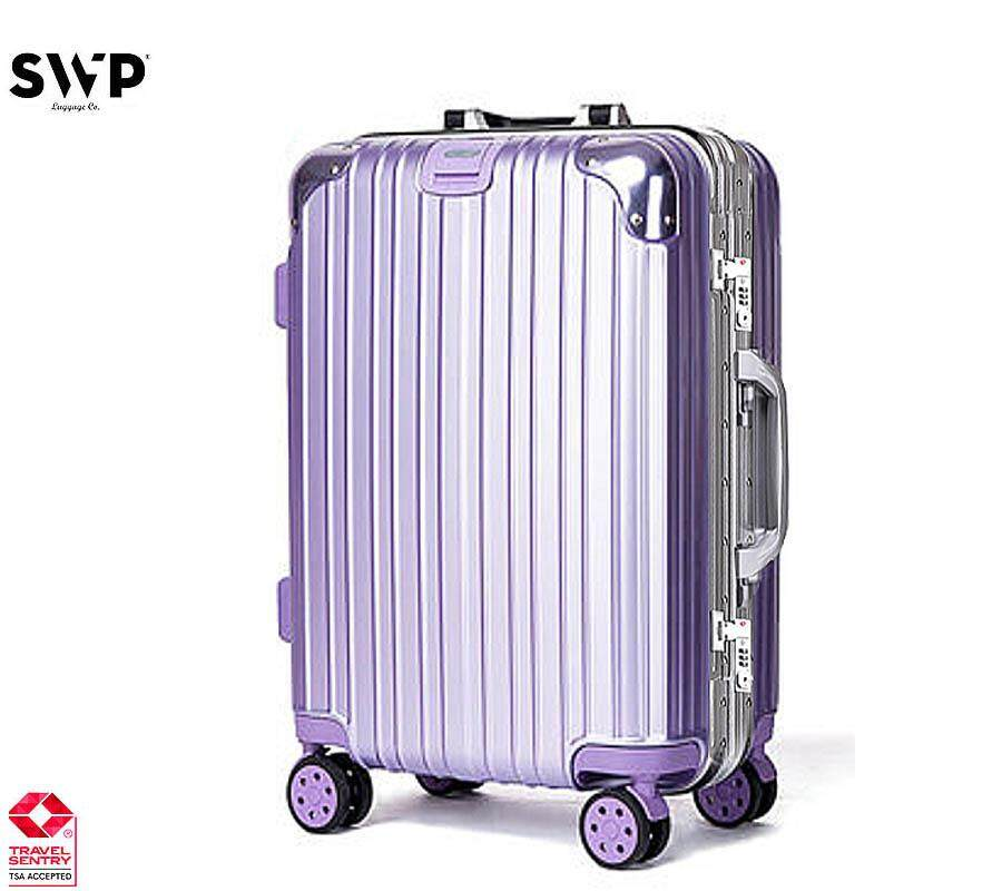 SWP 29 inch Aluminum Frame Anti-theft Case + Shining Pc Surface Hard Case  Luggage d0f36f5269