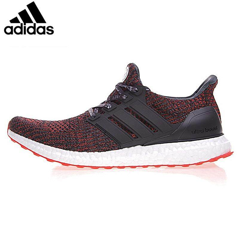timeless design 028f5 35133 Adidas Ultra Boost4.0 Popcorn Man Running Shoes Neutral Shoes 2018 New  Comfort Cushioning Sneakers
