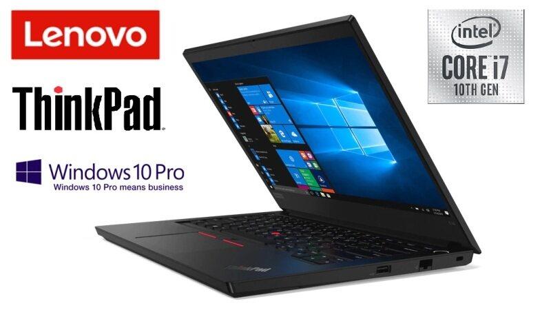 Lenovo Thinkpad E14-2100 14 FHD Laptop (I7-10510U, 8GB, 512GB SSD, Intel, W10PRO) Malaysia