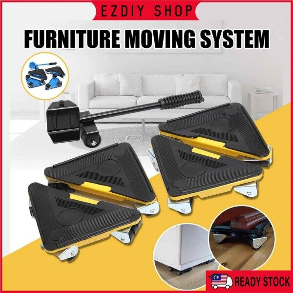 ♧  Heavy Furniture Lifter Furniture Mover Cabinet Transport Tool Max Load 300 kg Wheel Trolley