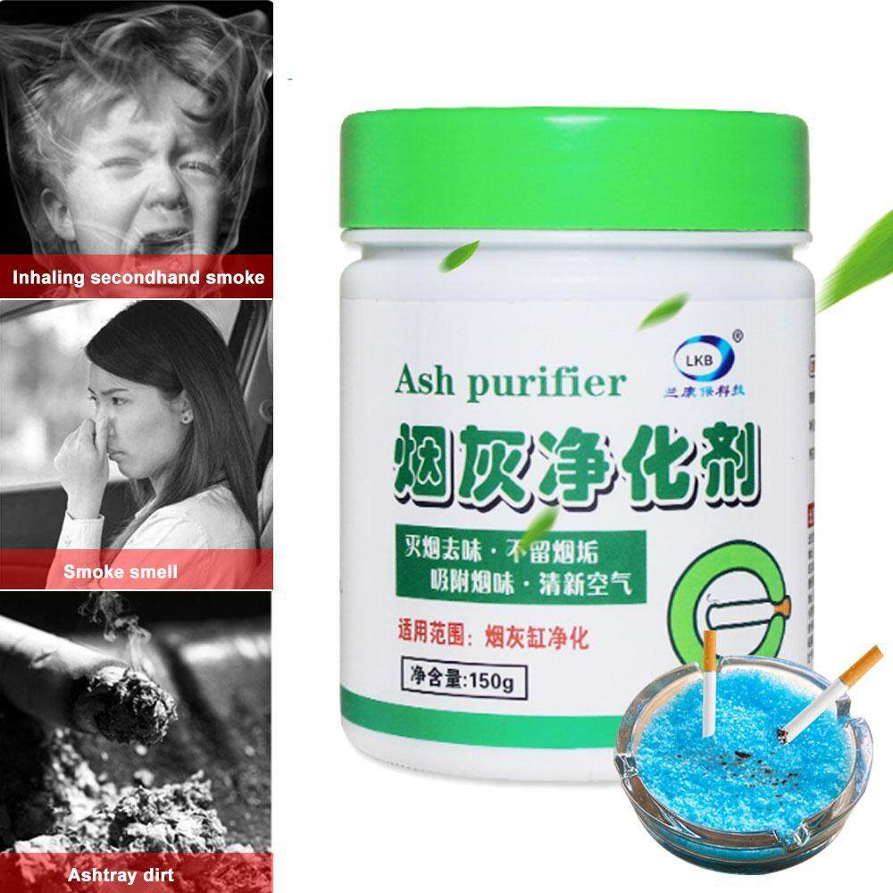 WithRitty Ashtray Sand, Smoke & Odors Eliminator Gel Ash Purifier For Home, Office,Hotel,Car