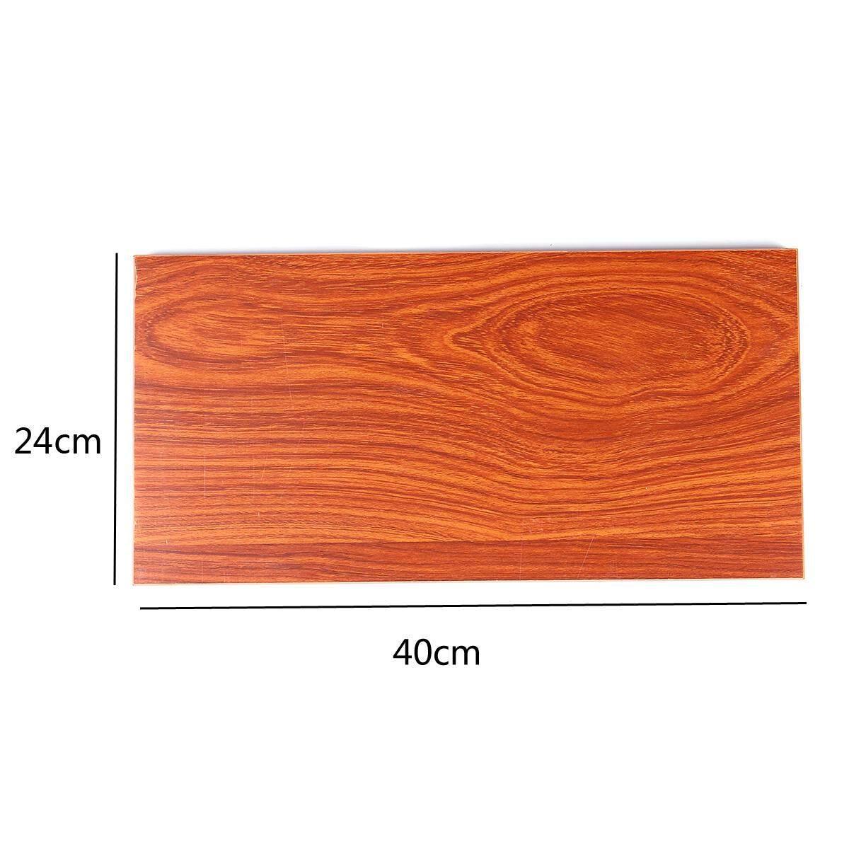 1Pcs 24cm×40cm Wall Shelves Vintage Solid Wood Board Panel Shelf Kit Bookshelf Wall Mount for Home Decor