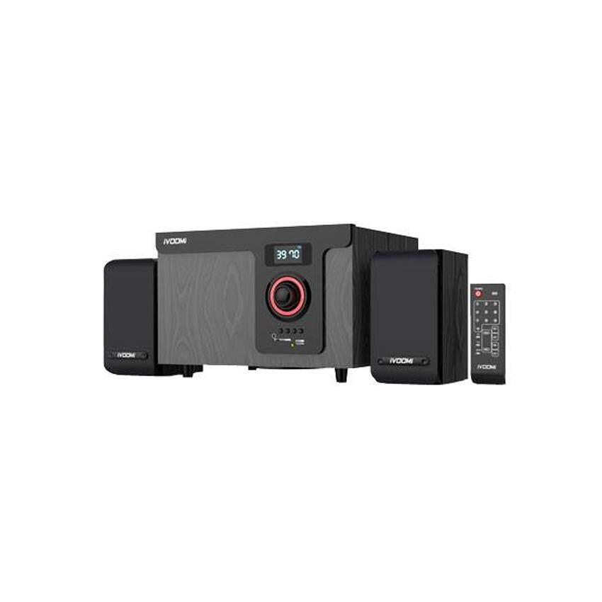 iVOOMi iVO-245 2.1 Multimedia Speaker with FM/USB/LED/Remote (Wood Enclosure) Malaysia
