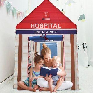 Lều Chơi Cho Trẻ Em Đồ Chơi Hình Lâu Đài Trong Nhà Ngoài Trời Cho Trẻ Em, Nhà Phòng Enfant, Lều Trẻ Em Teepee Nhà Chơi Lớn thumbnail