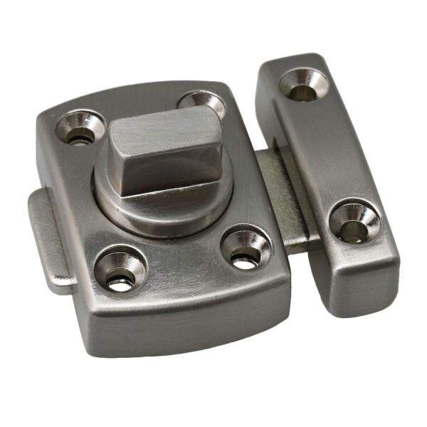 KIPRUN Rotate Bolt Latch, Zinc Alloy Thick Anti-theft Security Gate Latches Safety Door Slide Lock,Oil Rubbed Bronze
