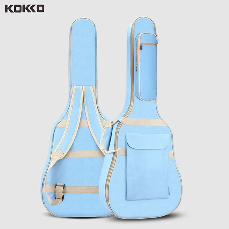 KOKKO Túi đựng đàn guitar dân gian 10MM dày xốp 40-41 inch