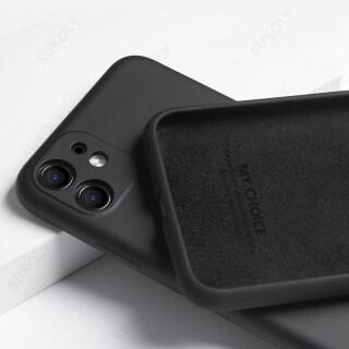 TPONE Fastdeliver Dành Cho iPhone 12 Pro Max 11 XS XR X 7 8 Plus SE 2020, Vỏ Bảo Vệ Ống Kính Máy Ảnh Ốp Điện Thoại Vải Micorfiber Silicon Lỏng Chính Hãng thumbnail