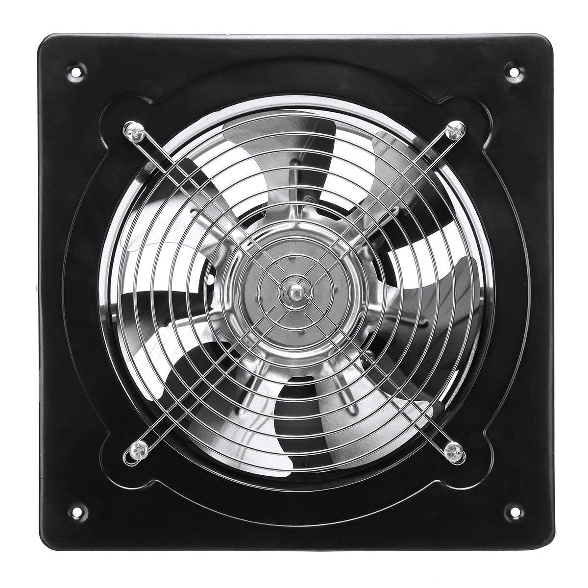 8Inch Commercial Axial Metal Industrial Extractor Blower Ventilation Exhaust Fan