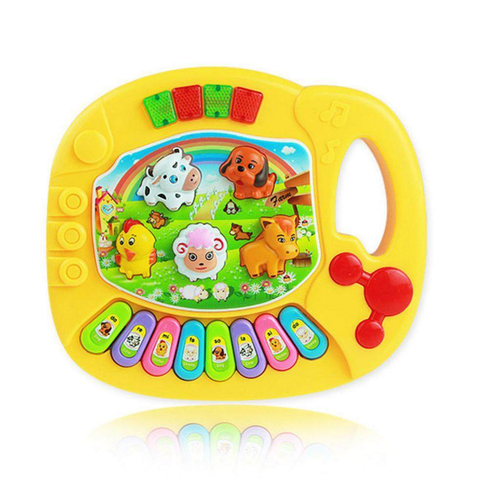 Baby Musical Toys Educational Piano Musical Toys with Animal Sound Cute Animals