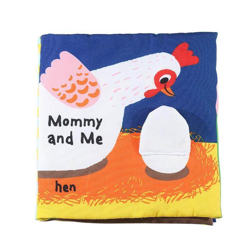 Mommy and Me Baby Infant Soft Fabric Cloth Book Toddler Touch and Feel Development Quiet Book