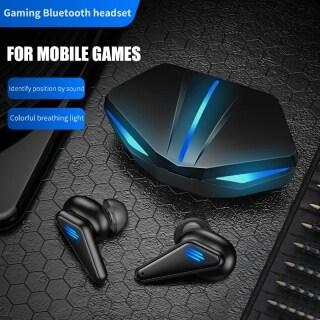 Tai Nghe SUMLIFE K55 TWS Bluetooth 5.0, Tai Nghe Chơi Game Âm Thanh Nổi HIFI Âm Trầm Sâu Giảm Tiếng Ồn Độ Trễ Thấp Tai Nghe Không Dây Thời Trang Hiệu Ứng Ánh Sáng thumbnail