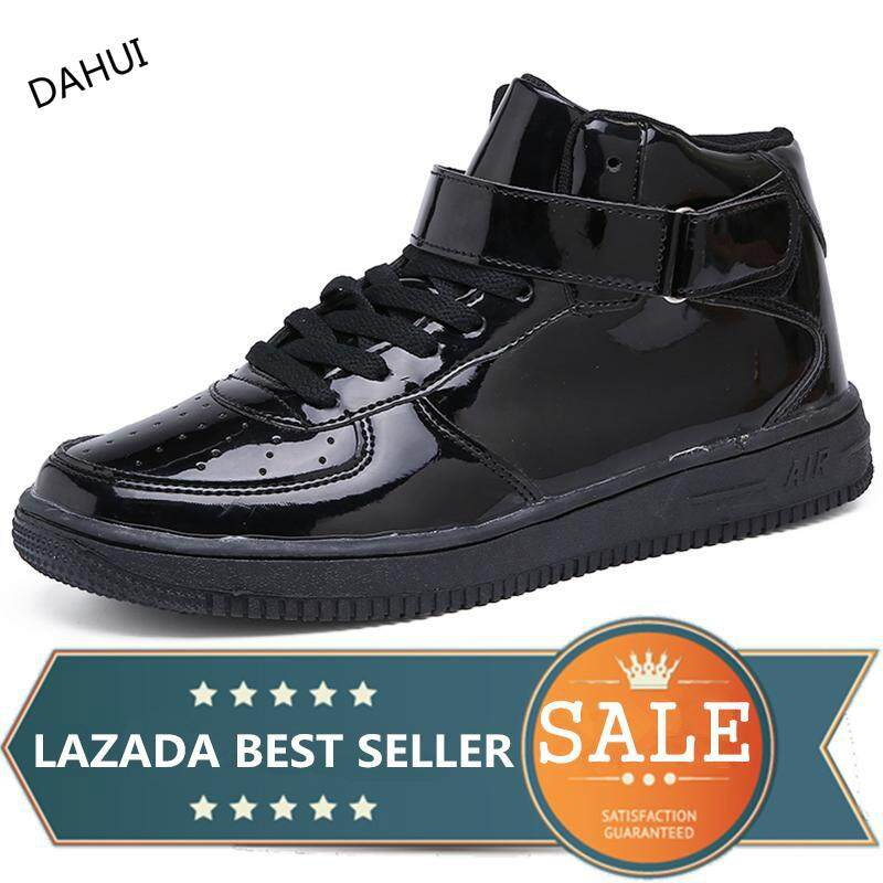 7b79342796fa Men And Women Basketball Shoes High Top Athletic Trainers Outdoor Sport Shoes  Sneakers For Adult Black
