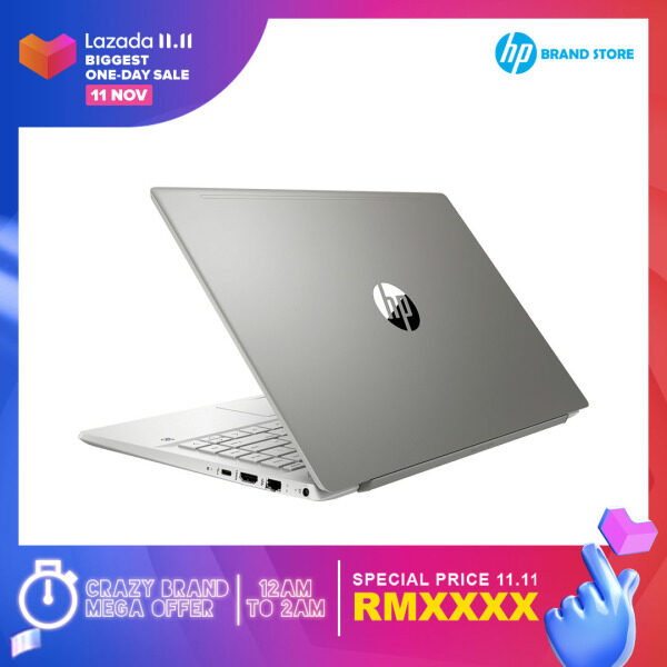 [ONLINE EXCLUSIVE] Hp Pavilion 14-ce3075TX (Warm Gold)/14-ce3076TX (Mineral Silver)/14-ce3078TX (Misty Mauve)/14-ce3079TX (Tranquil Pink) Laptop-(14IN FHD/Intel i5-1035G1/8GB DDR4/512GB SSD/NVIDIA® MX250 2GB/Win10/Preload H&S) + Free Premium Gifts Malaysia