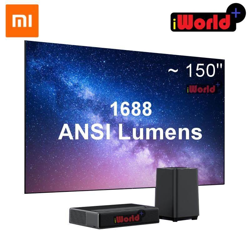 Xiaomi Laser TV Wemax One Ultra Short Throw Laser Projector Smart Android  TV 7000 Lumens 1688 ANSI Lumens Full HD support 4K 3D - Black