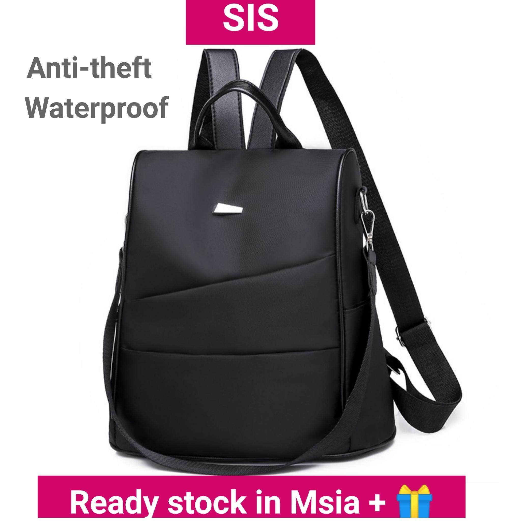 577d8d562f1 Anti-theft and Waterproof Korean Style Ladies Women Backpack Casual  Racksack Travel Bag Sling Bag