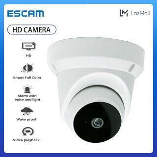 ESCAM Máy Quay Phim WiFi HD V380 Q1 Bán Cầu 1080P, Camera Thông Minh Xoay 360 PTZ thumbnail