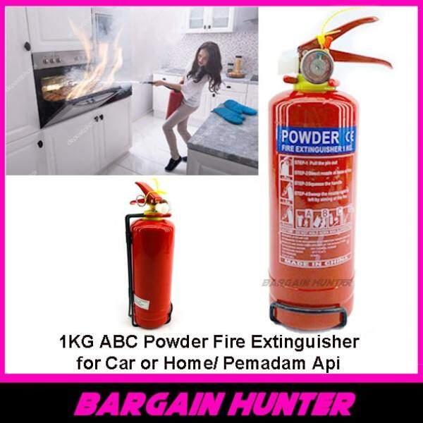 BARGAIN HUNTER - 1KG ABC Powder Fire Extinguisher for Car Home Pemadam Api