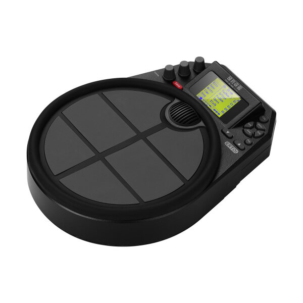 Portable Electronic Drum Percussion Drum Practice Pad 15 Drum Kit Sounds 59 Demo Metronome Timer Function LCD Display with 2 Foot Pedals Built-in Rechargeable Battery Malaysia
