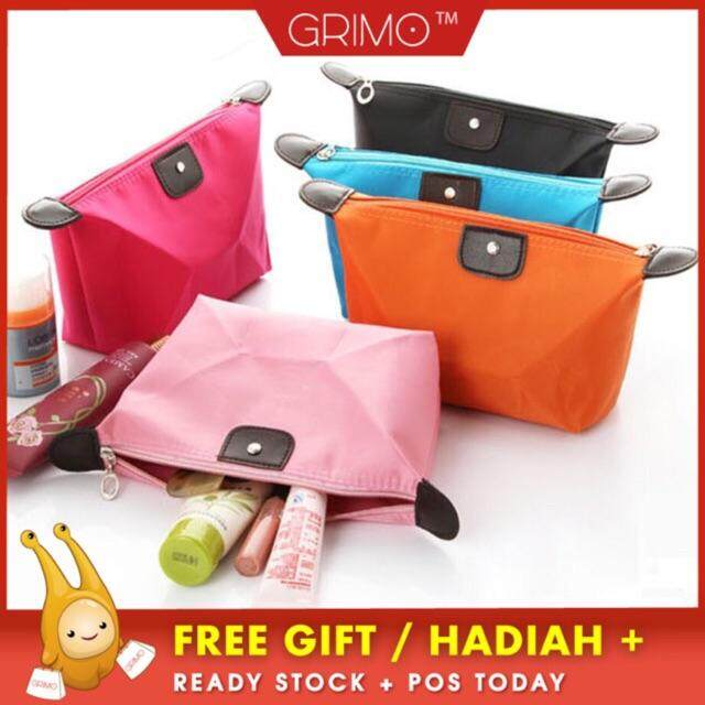 2e60630c36 GRIMO MALAYSIA - Candy Make up Pouch Travel Pouch Coin Lady Dompet Makeup  Beg Wallet Bag