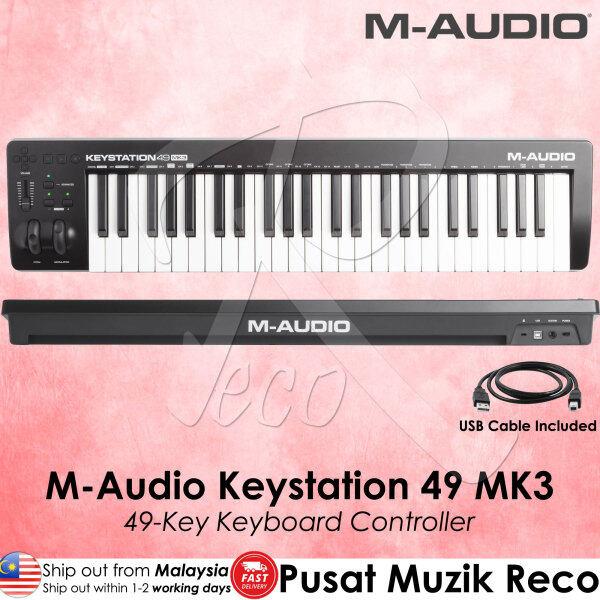 M-Audio Keystation 49 MK3 49 key Full-sized USB MIDI Keyboard Controller with Software Pack Malaysia