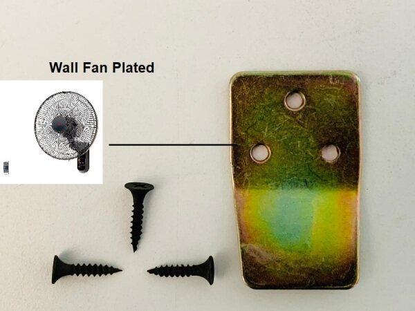 N Wall Fan Steel Plated Bracket