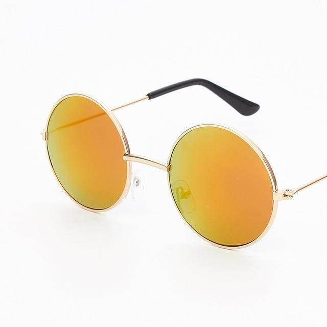 8888e5b2c Zilead Fashion Baby Sunglasses Brand Retro Kids Round Sun Glasses Children  Outdoor UV Shade Eyeglasses Eyeware