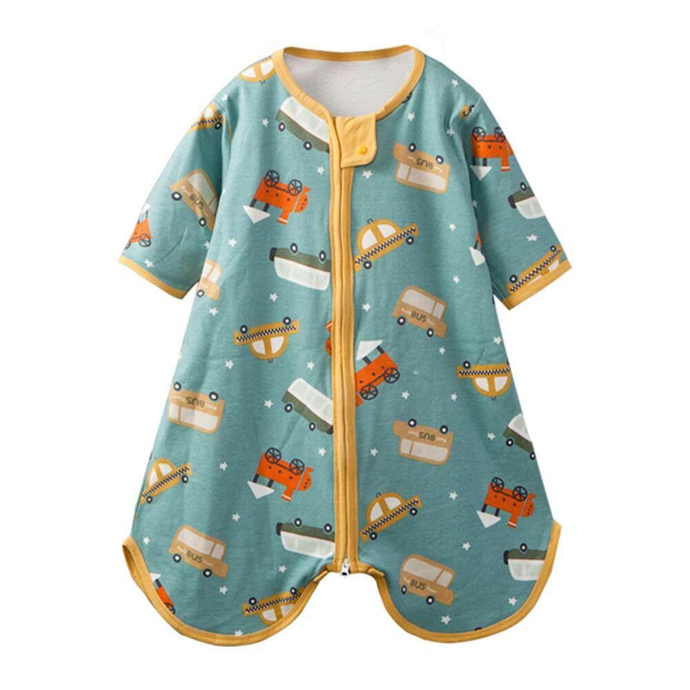 VANMASS Infant Toddler Pizza Mesh Logo Short Sleeve Bodysuits Playsuit Clothes