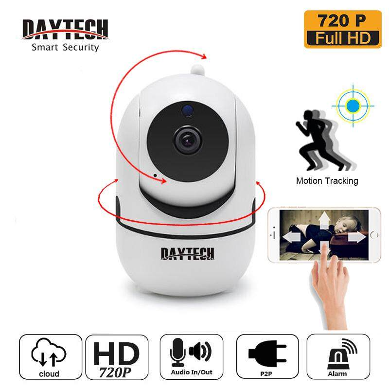 【Buy 2 Freeshipping】DAYTECH IP Camera CCTV Indoor Wireless WiFi Camera Auto  Motion Tracking 720P/1080P Audio Cloud YCC365 Plus APP (DT-C8820)