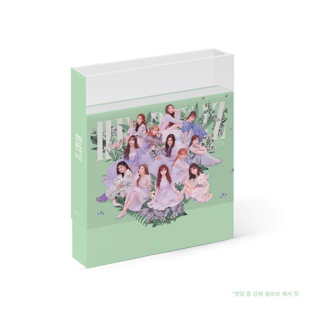 IZ*ONE IZONE - HEART*IZ [Violeta ver.] (2nd Mini Album) 1CD+106p Photobook+Clear Sleeve+Mini Photobook+2Photocards+Pop-up Card+Double Side Extra Photocards Set