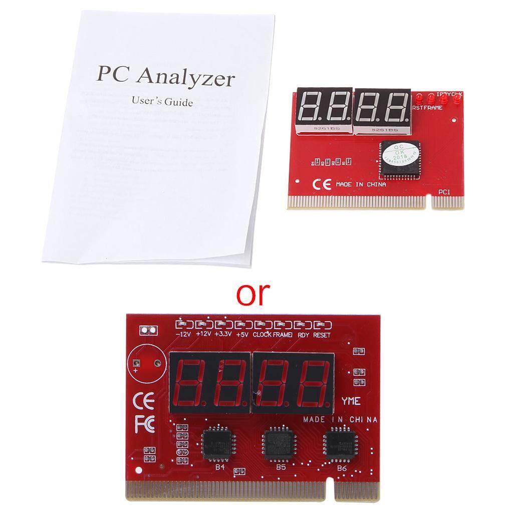 Giá Máy Tính Mới PCI Thẻ Bài Bo Mạch Chủ LED 4 Số Chẩn Đoán Thử Nghiệm Máy Tính Phân Tích