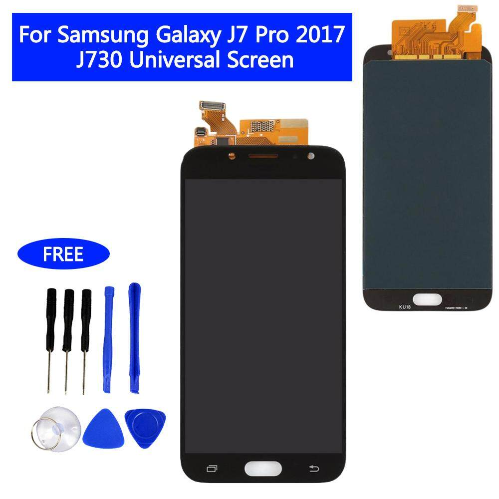For SAMSUNG Galaxy J7 Pro J730 Original LCD screen assembly  F Display Touch Screen Digitizer Free Tools