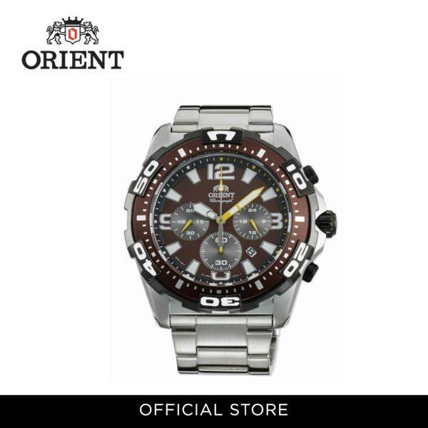 Orient Men Watch Quartz Chronograph Metal Strap Watch ORFTW05002T Malaysia